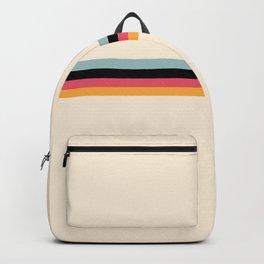 Ishtar - Classic Retro Summer Stripes Backpack