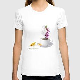 Caffeine Makes Me Jumpy T-shirt