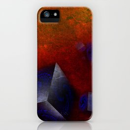 Chaotic Cubes iPhone Case