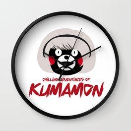 Chilling Adventures of Kumamon Wall Clock