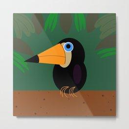 Jungle Bird Metal Print