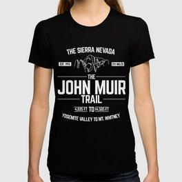 The John Muir Trail Design for Thru-Hikers T-shirt