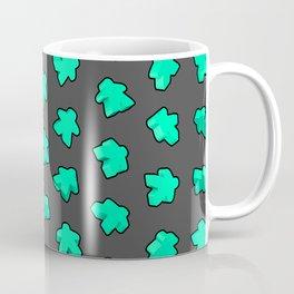 Mint Game Meeples Coffee Mug