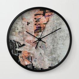 Berlin Posters-Orange Line Wall Clock