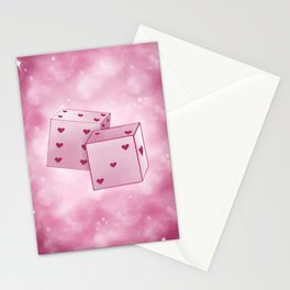 lucky in love Stationery Cards