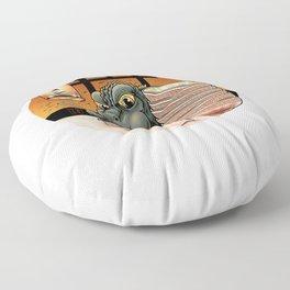 Ramenzilla Floor Pillow