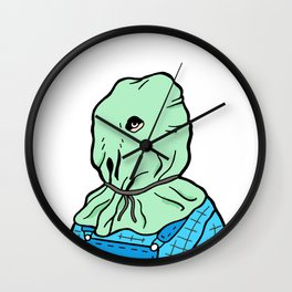 Jason Voorhees part 2 Wall Clock