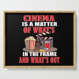 Film Movies Cinema Camera Strip Serving Tray