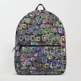 Doodle squares Backpack