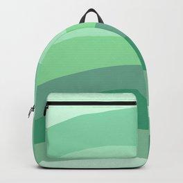 Green Aesthetic  Backpack
