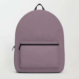 ELDERBERRY dusty solid color Backpack