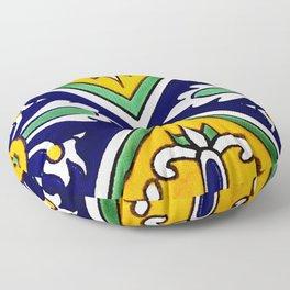 talaveramexican tile Floor Pillow