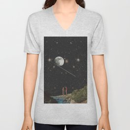 TO INFINITY AND BEYOND Unisex V-Neck