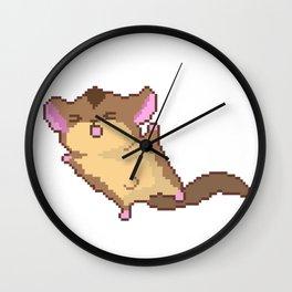 cute squirrel fly Wall Clock