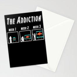 Aquaristic fan hobby aquarist t-shirt aquarium gift Stationery Cards