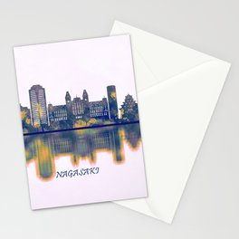 Nagasaki Skyline Stationery Cards