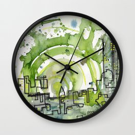 City of Tomorrow Wall Clock