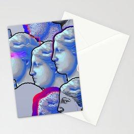 Venus de Milo sculptures Stationery Cards