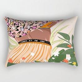Look at me now Rectangular Pillow