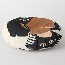Boring Summer Floor Pillow