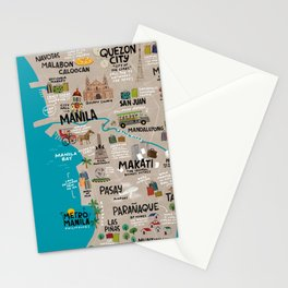 Metro Manila, Philippines Stationery Cards