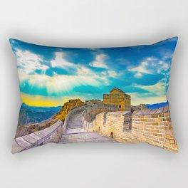 Simatai West Great Wall Rectangular Pillow