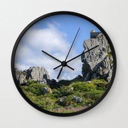 Roche Rock chapel 1 Wall Clock