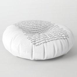 #notALLpeople Floor Pillow