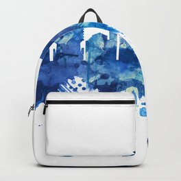 Hampton Virginia Skyline Blue Backpack