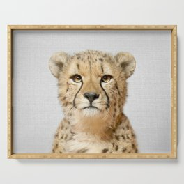 Cheetah - Colorful Serving Tray