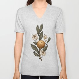 Clementine Unisex V-Neck