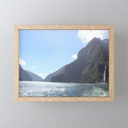 Milford Sound - Fiordland - New Zealand Framed Mini Art Print