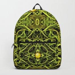 Green Streaks, Golden Orbs 2 Backpack