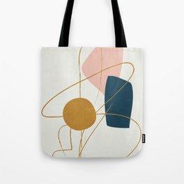Minimal Abstract Shapes No.46 Tote Bag