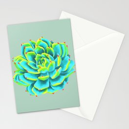 Desert flower 3 Stationery Cards