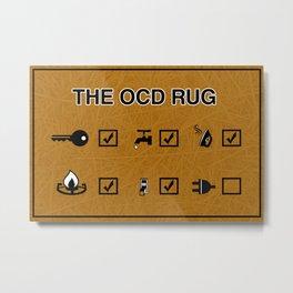 OCD  Metal Print