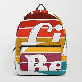 Bella Ciao - vintage sunset Backpack