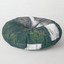 Multnomah Falls II Floor Pillow