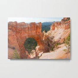 Natural Bridge - Tina Pieczko Meskimen Metal Print