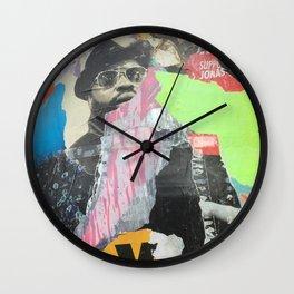Berlin Posters-YO Wall Clock