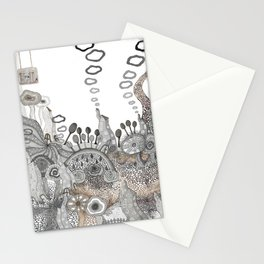 """""""Brown"""" illustration Stationery Cards"""