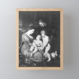 Peter Paul Rubens - Heilige Familie (Kopie nach) Framed Mini Art Print