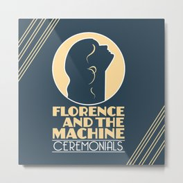 and the machine album florence 2020 ansel1 Metal Print