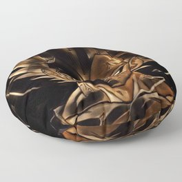 Dragon Ball Vegeta Artistic Illustration Energy Style Floor Pillow