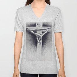 Cristo Dalì Unisex V-Neck