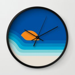 Ocean Dipper Wall Clock