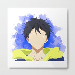 Free! Minimalist (Haru) Metal Print