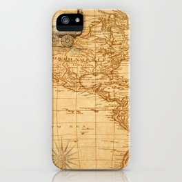Vintage Map of America iPhone Case