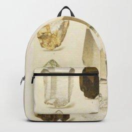 Quartz Crystals Backpack