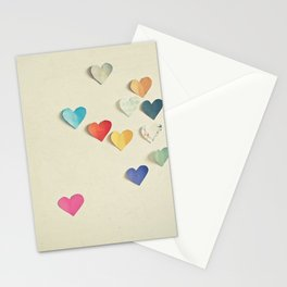 Paper Hearts Stationery Cards
